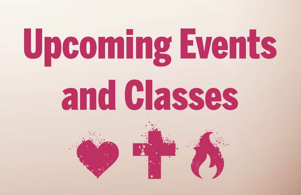 upcoming events and classes square