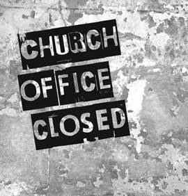 church-office-closed