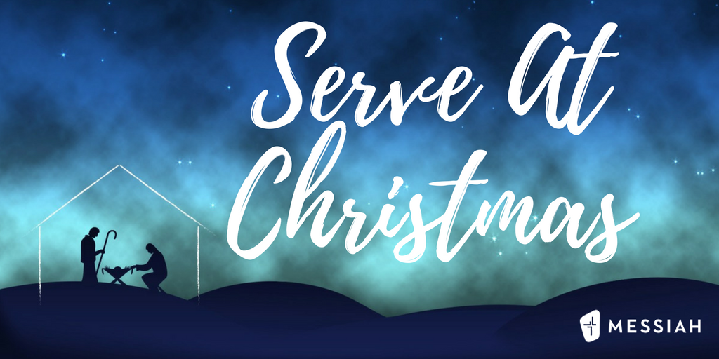 Serve At Christmas