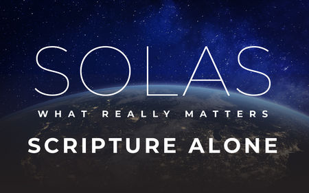 Solas: Scripture Alone