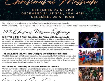 Christmas Mission Offering